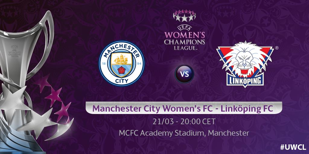 Manchester City Women's FC - Linköping FC